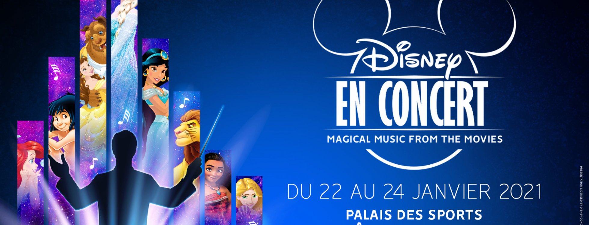 dome de paris : Disney en Concert - Magical Music from the Movies