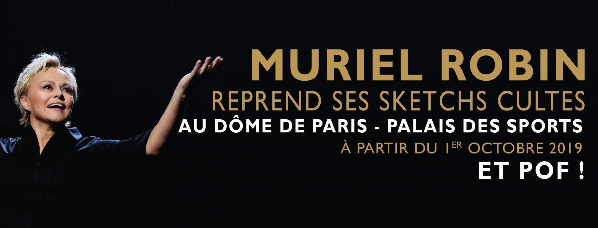 dome de paris : MURIEL ROBIN