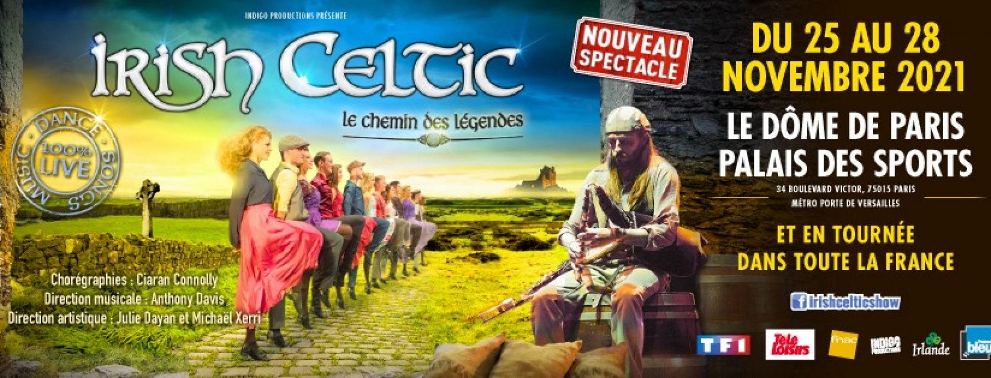 dome de paris : IRISH CELTIC