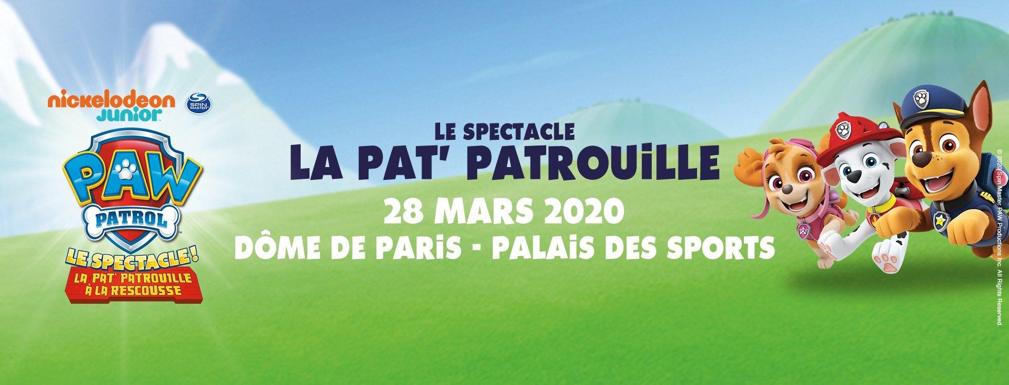 dome de paris : LA PAT'PATROUILLE