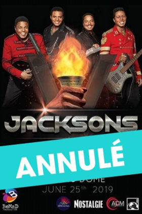 JACKSONS - Concert Annulé