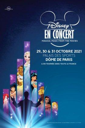 Concert reporté les 29, 30 et 31 octobre 2021